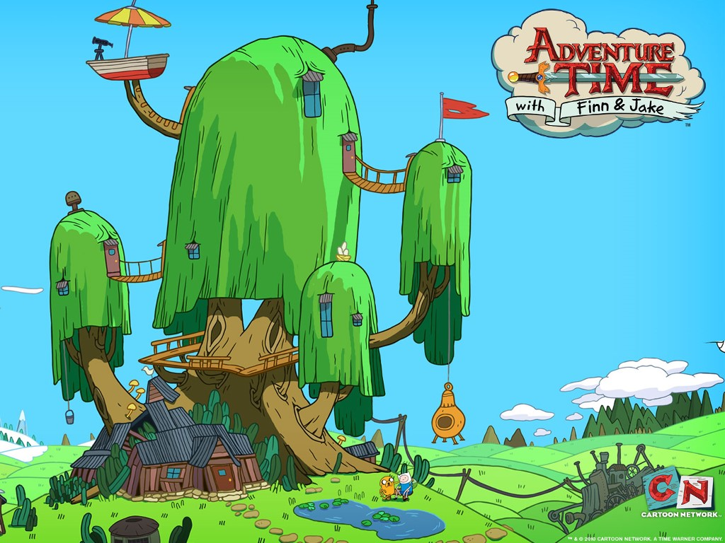 Cartoons Wallpaper: Adventure Time