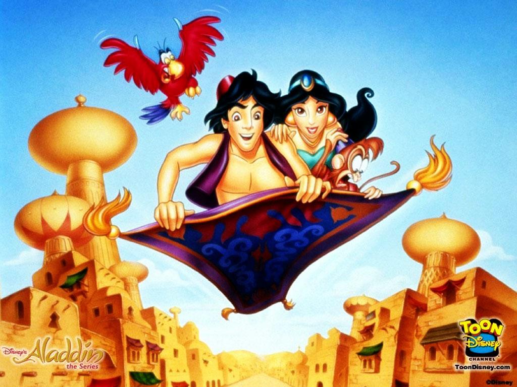 Cartoons Wallpaper: Aladdin