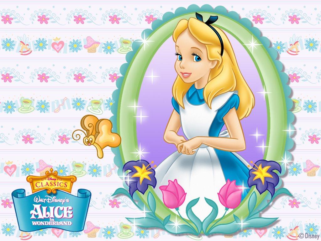 Cartoons Wallpaper: Alice in Wonderland