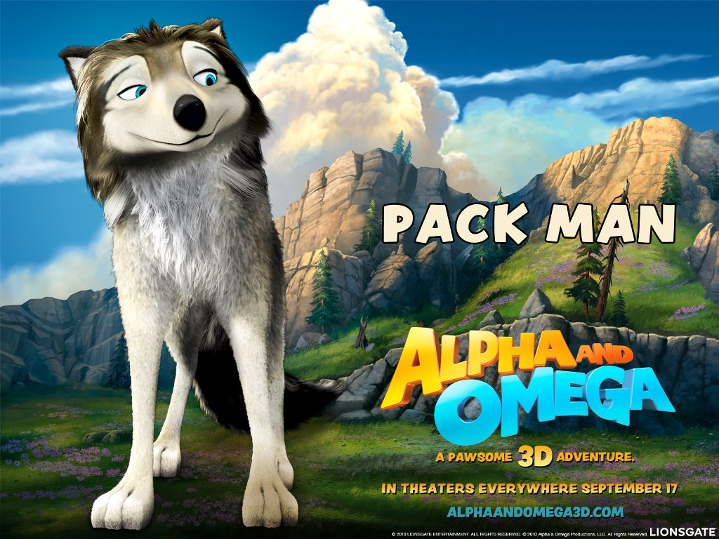Cartoons Wallpaper: Alpha and Omega