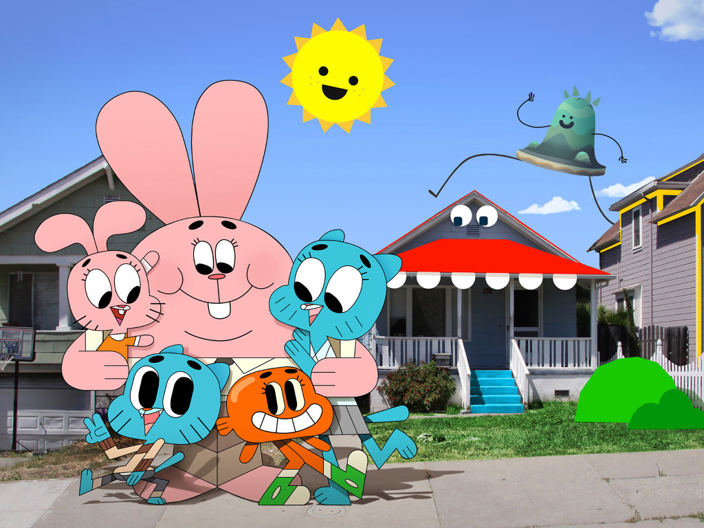Cartoons Wallpaper: The Amazing World of Gumball