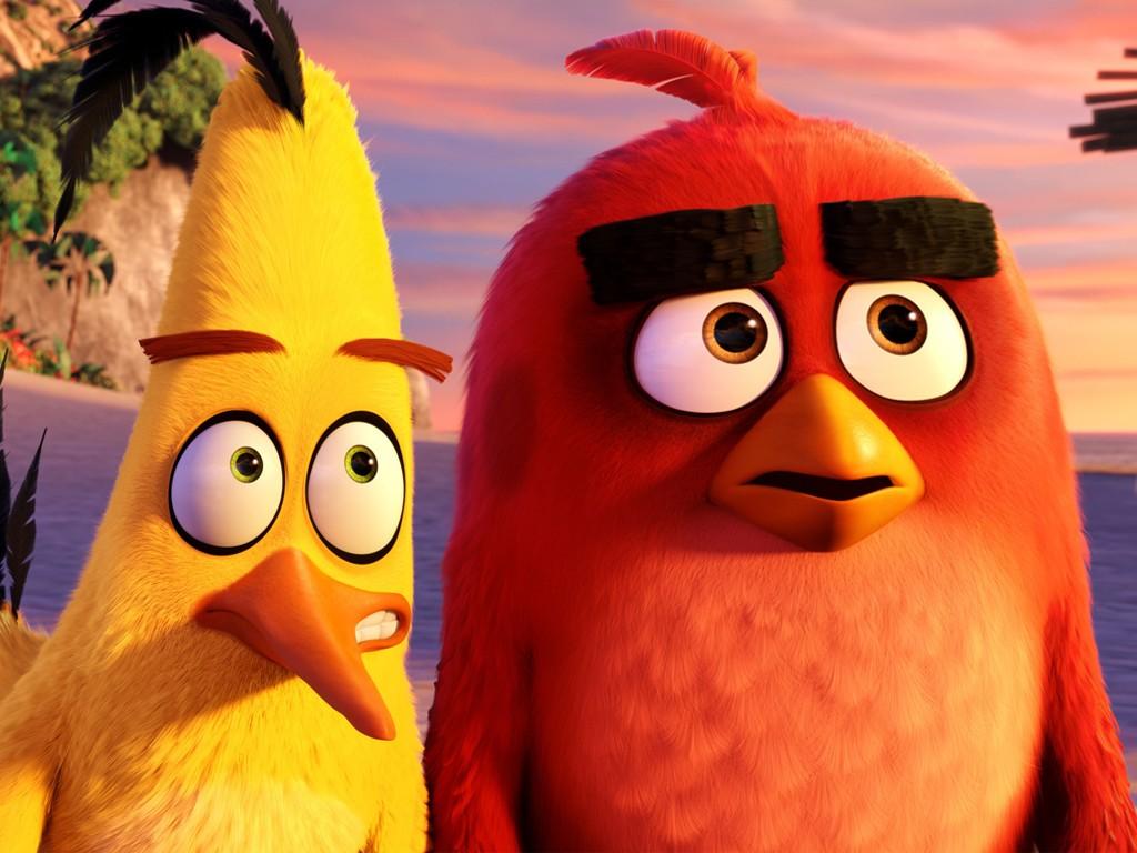 Cartoons Wallpaper: The Angry Birds Movie