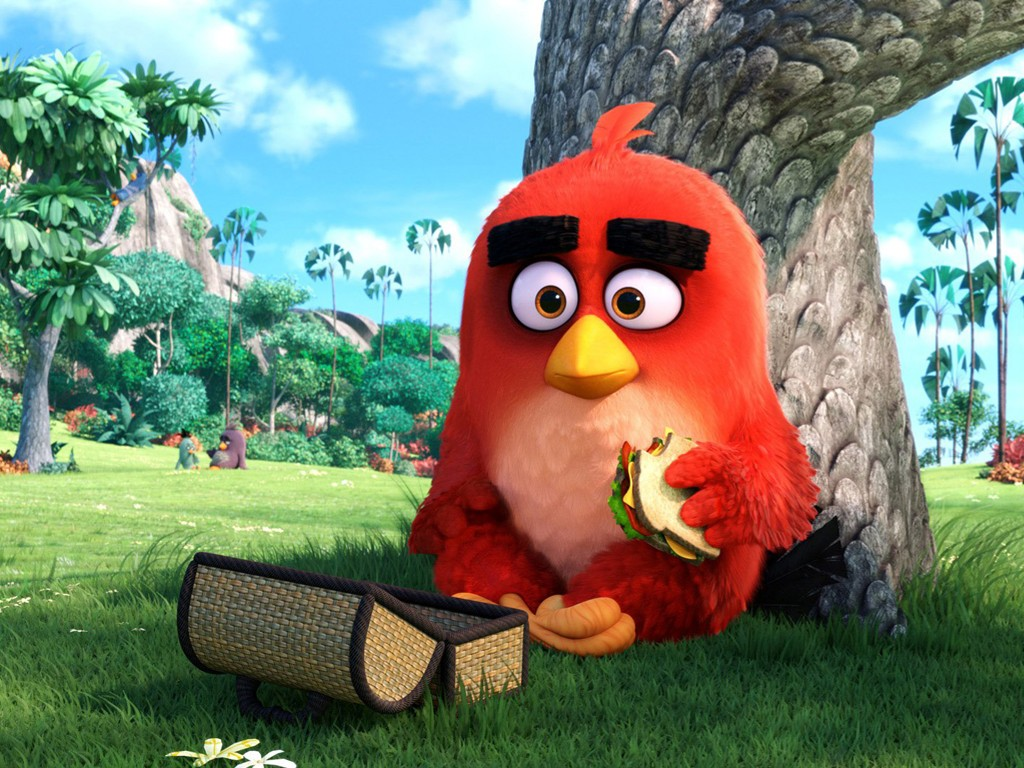Cartoons Wallpaper: The Angry Birds Movie