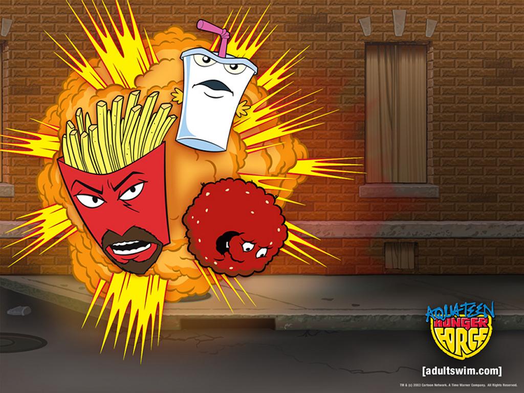 Cartoons Wallpaper: Aqua Teen Hunger Force