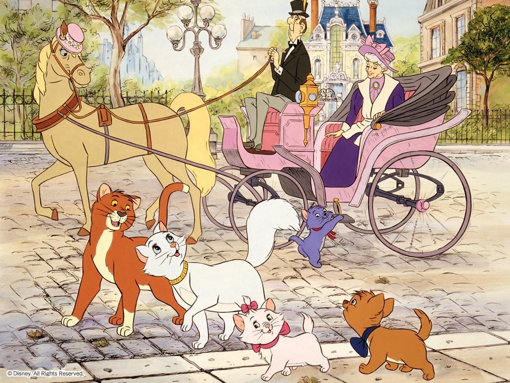 Cartoons Wallpaper: Aristocats