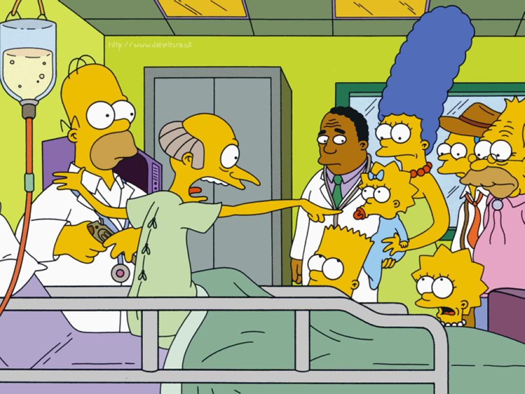 Cartoons Wallpaper: Simpsons