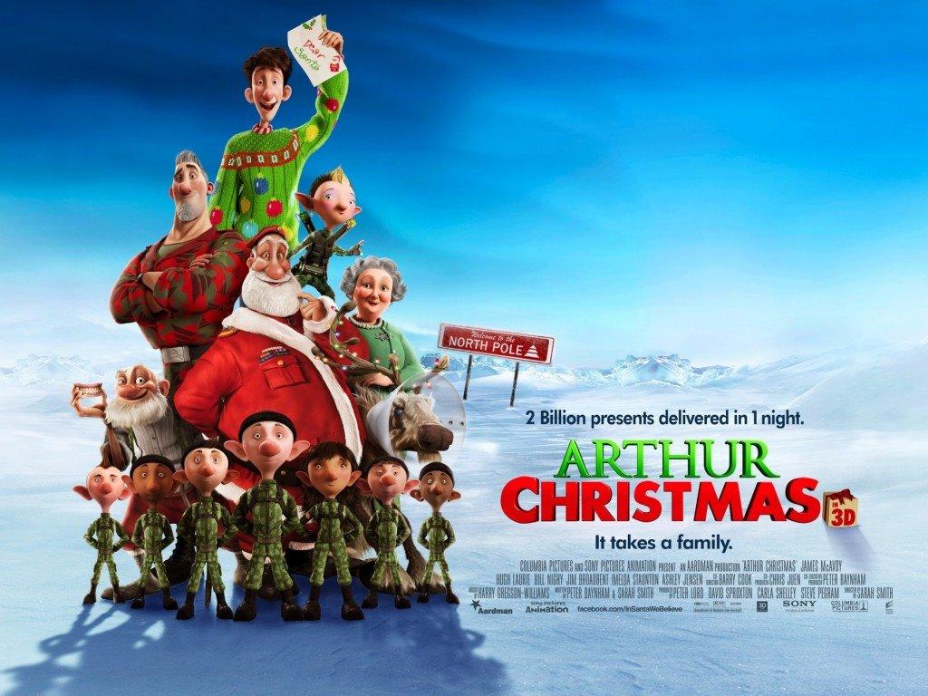 Cartoons Wallpaper: Arthur Christmas