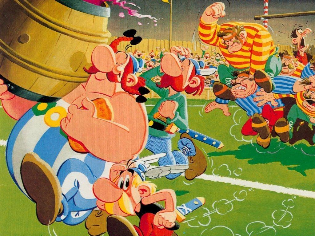 Cartoons Wallpaper: Asterix