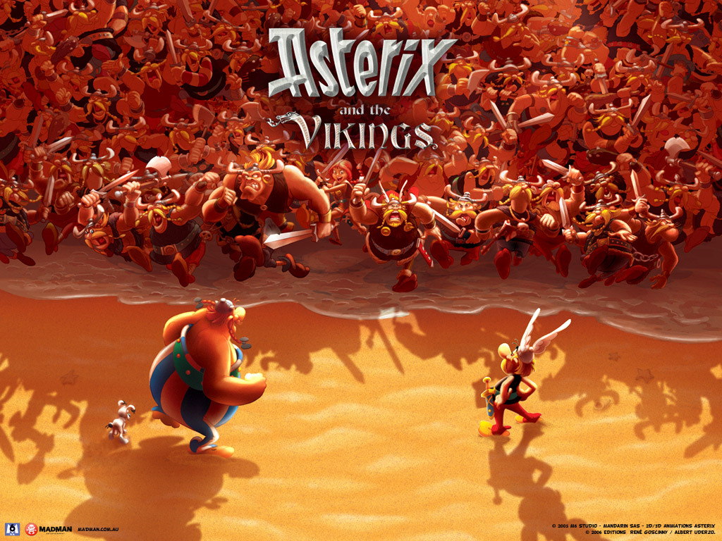 Cartoons Wallpaper: Asterix and the Vikings