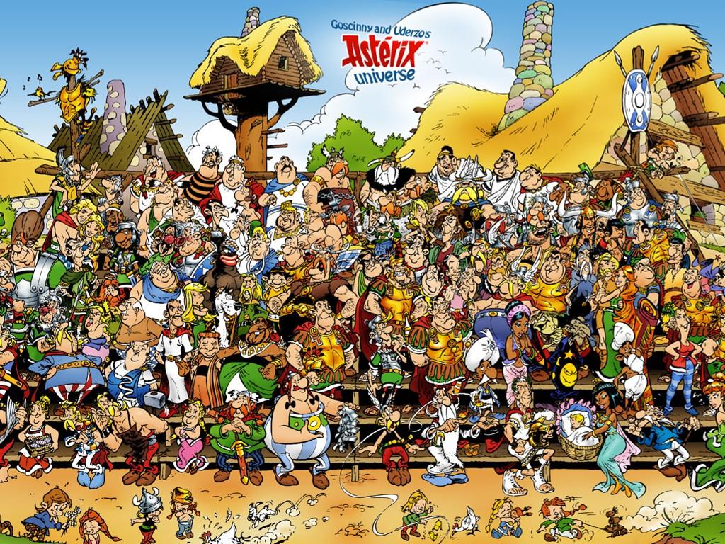 Cartoons Wallpaper: Asterix - Universe
