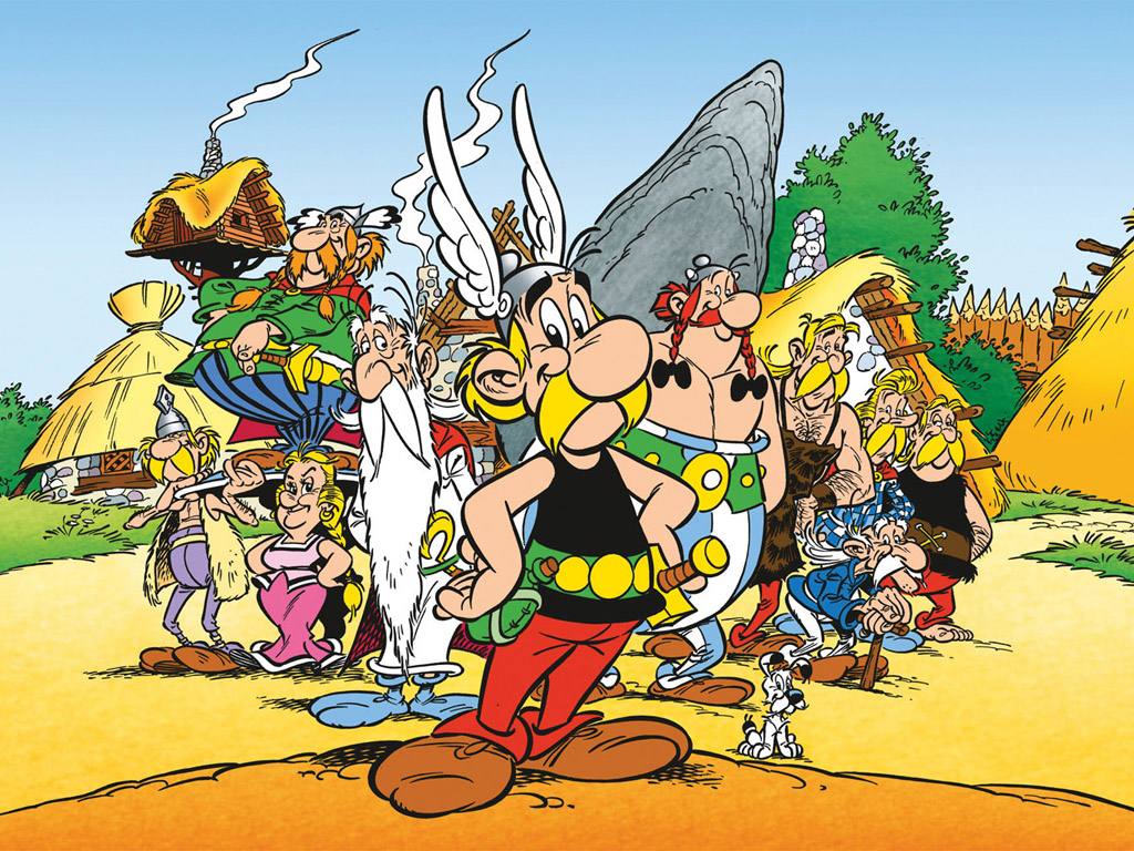 Cartoons Wallpaper: Asterix