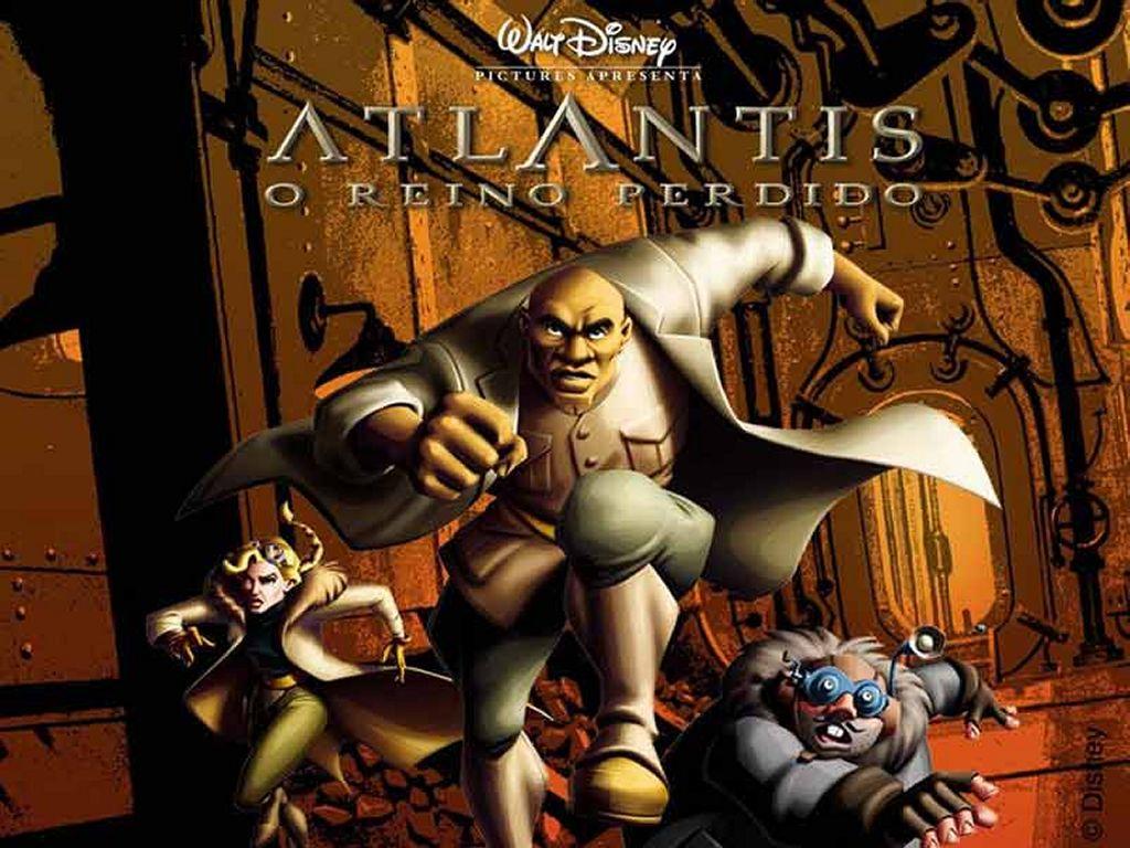 Cartoons Wallpaper: Atlantis