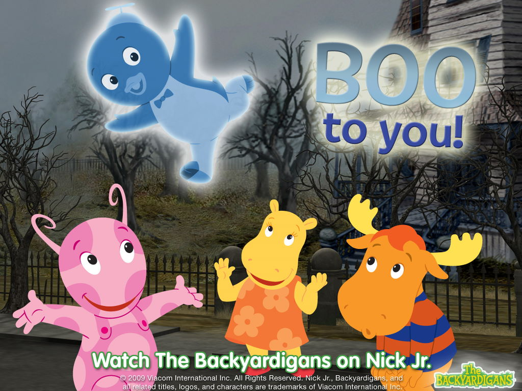 Cartoons Wallpaper: Backyardigans - Halloween