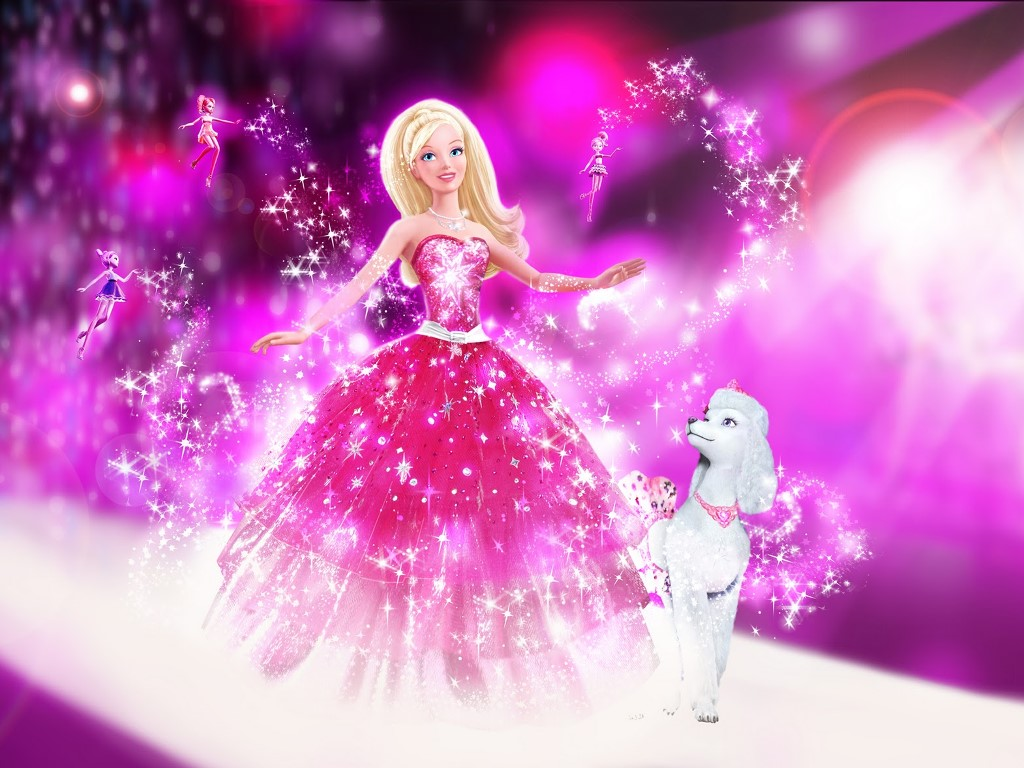 Cartoons Wallpaper: Barbie - A Fashion Fairytale