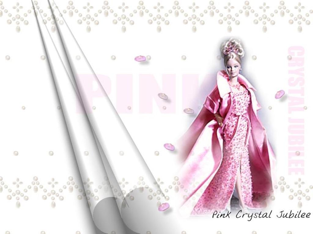 Cartoons Wallpaper: Barbie - Pink Crystal Jubilee