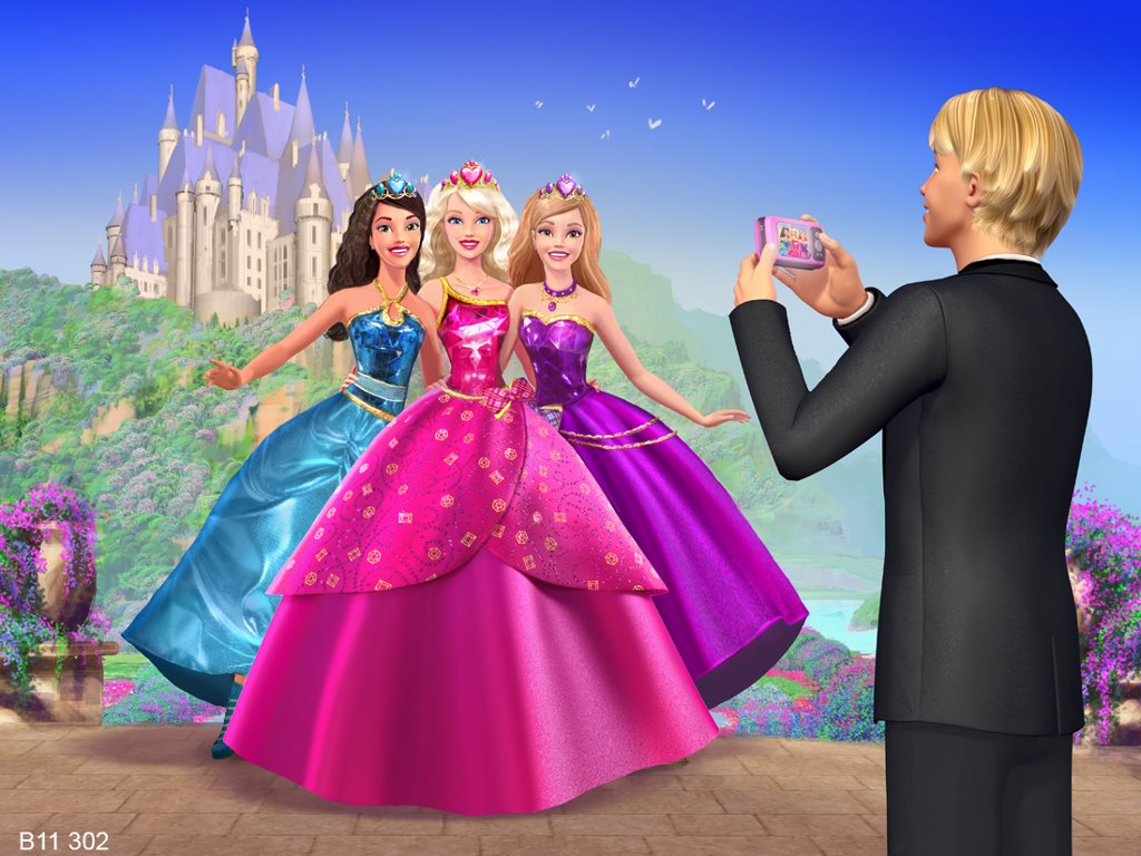 Cartoons Wallpaper: Barbie - Princess Charm School