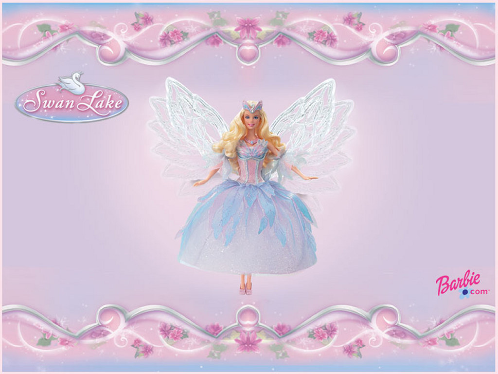 Cartoons Wallpaper: Barbie - Swan Lake