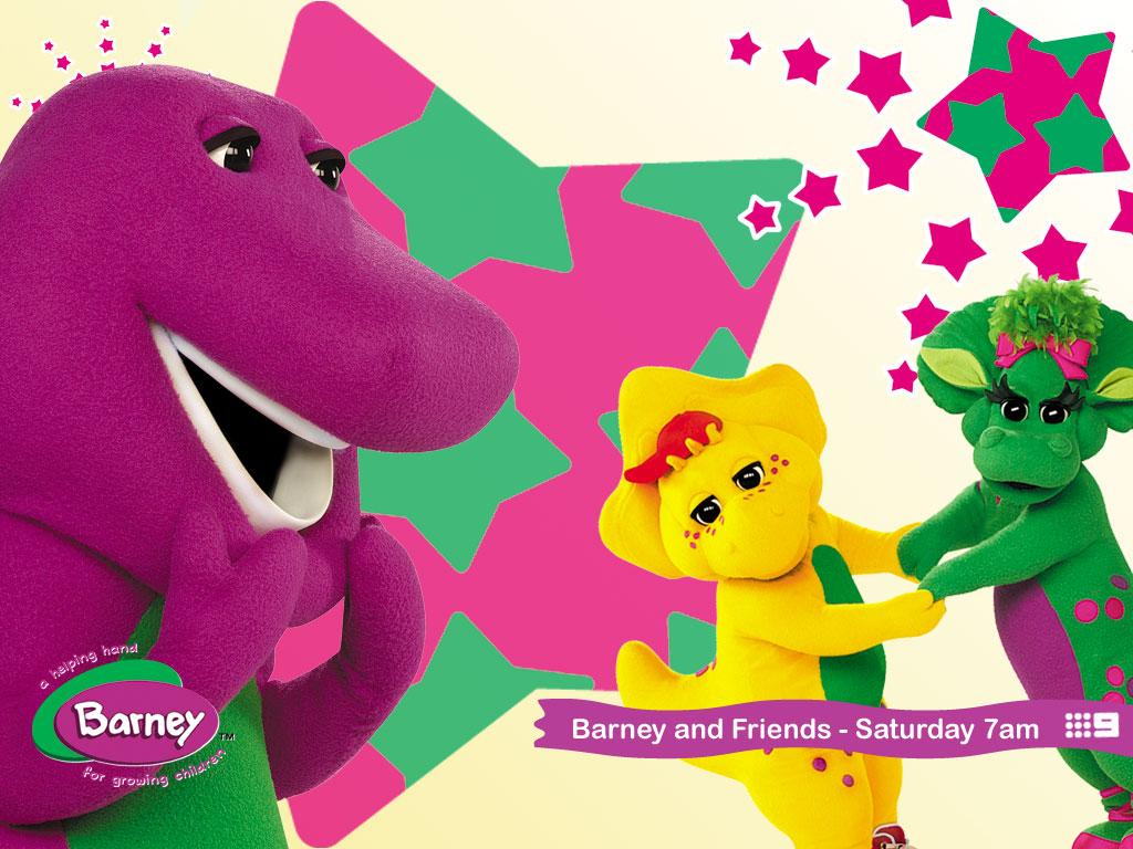 Cartoons Wallpaper: Barney