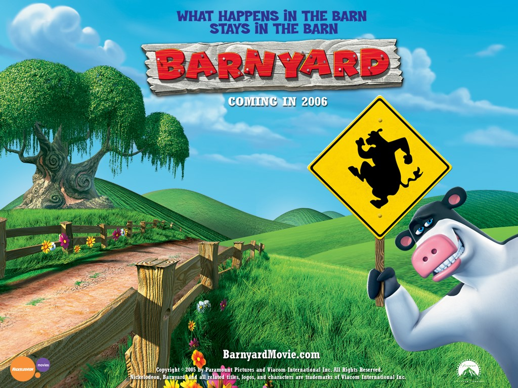 Cartoons Wallpaper: Barnyard