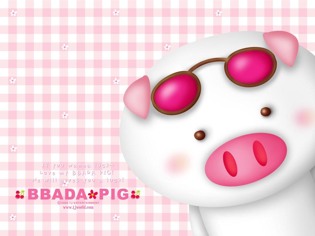 Cartoons Wallpaper: Bbada-Pig