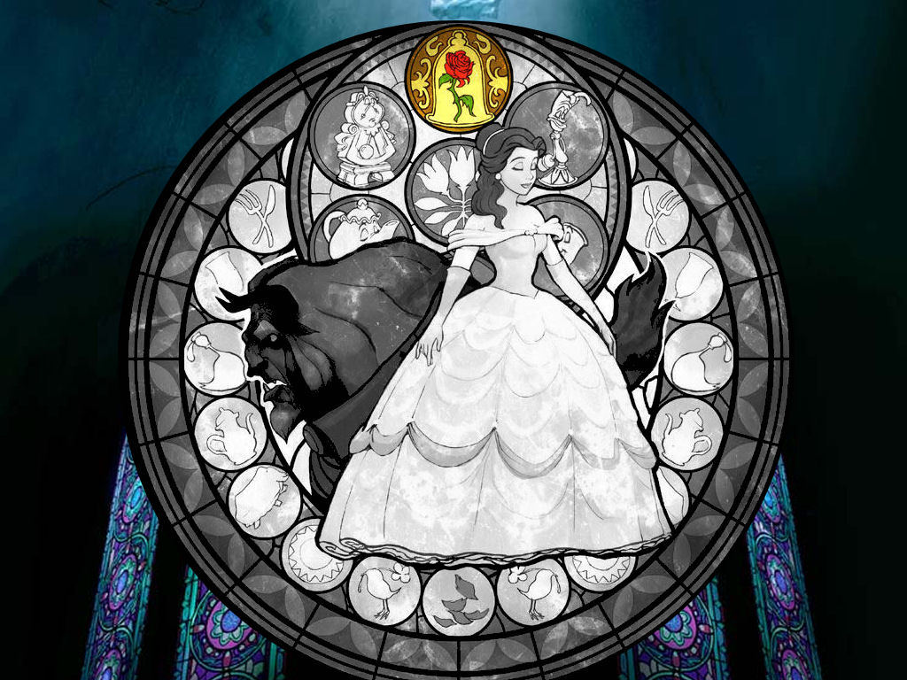 Cartoons Wallpaper: Beauty and the Beast