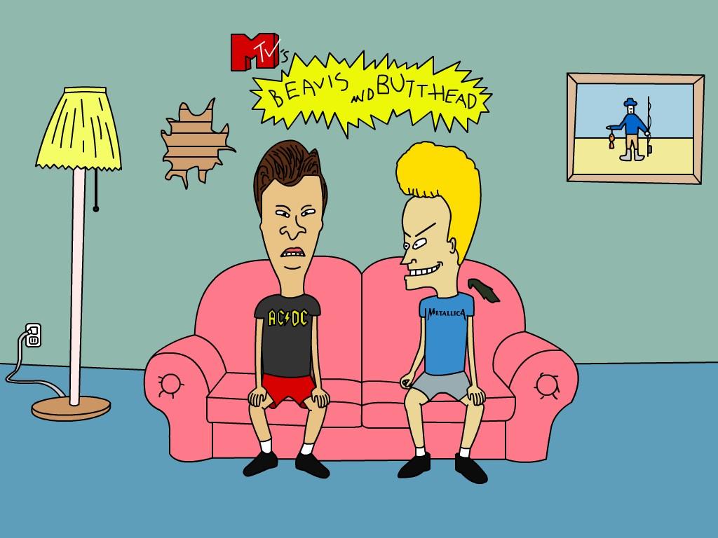 Cartoons Wallpaper: Beavis and ButtHead