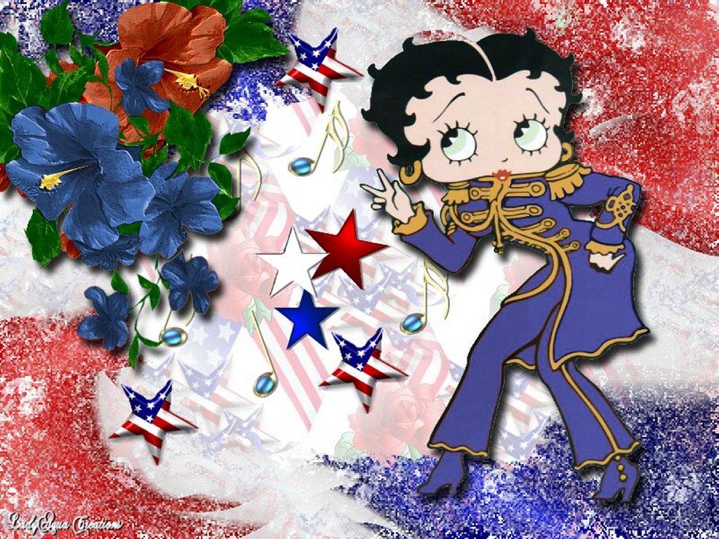 Cartoons Wallpaper: Betty Boop American