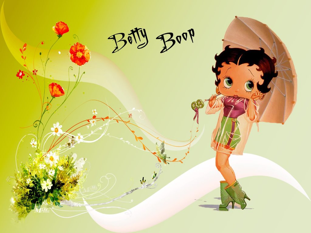 Cartoons Wallpaper: Betty Boop