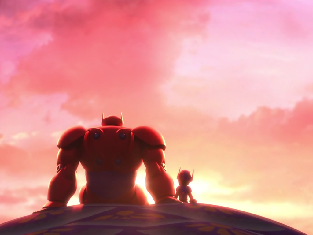 Cartoons Wallpaper: Big Hero 6