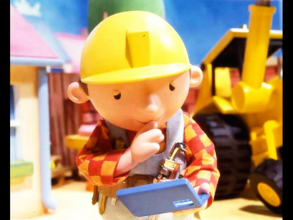 Cartoons Wallpaper: Bob the Builder