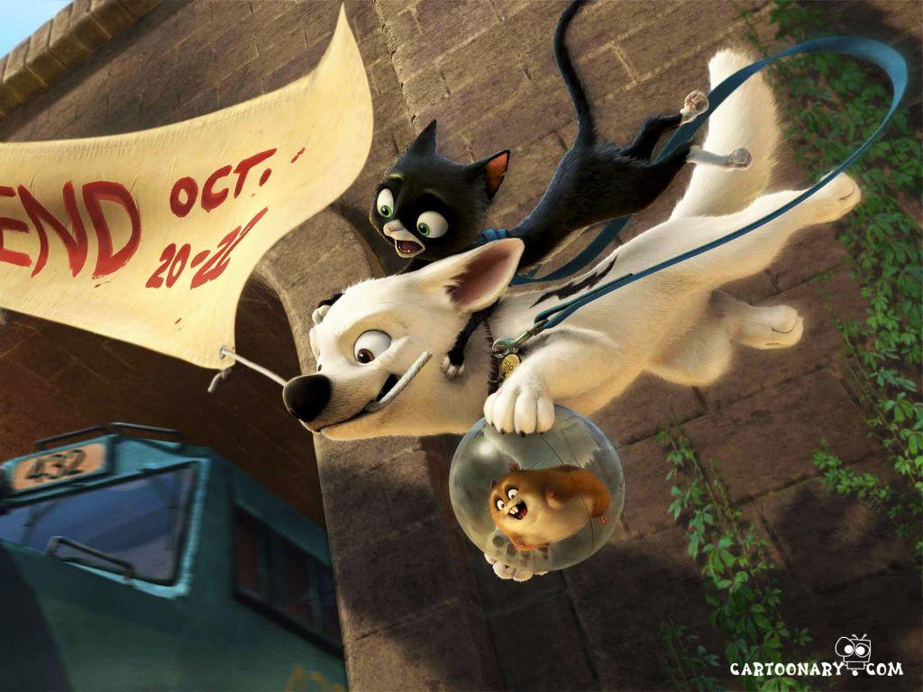 Cartoons Wallpaper: Bolt