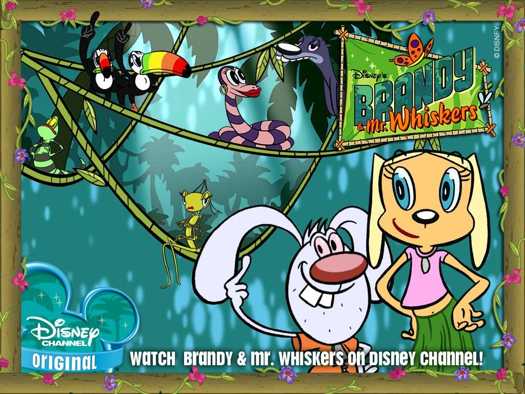 Cartoons Wallpaper: Brandy and Mr. Whiskers