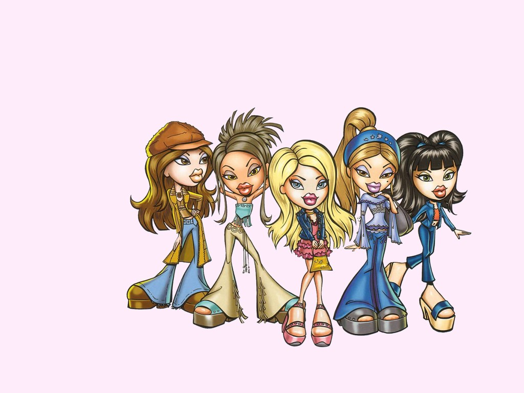 Cartoons Wallpaper: Bratz