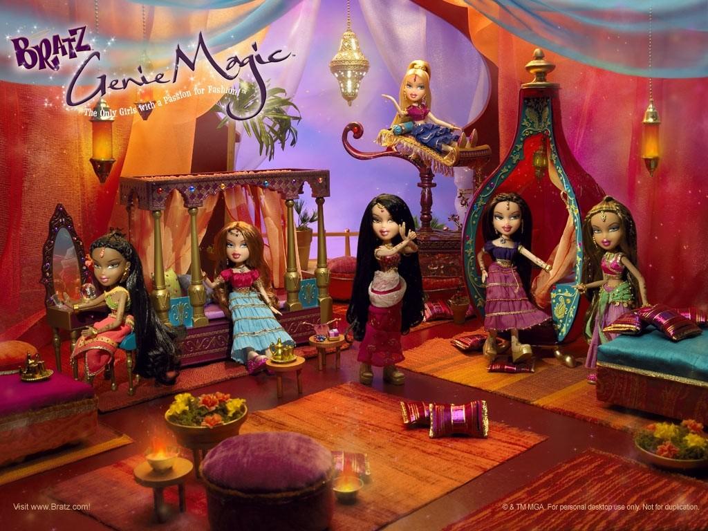 Cartoons Wallpaper: Bratz - Genie Magic