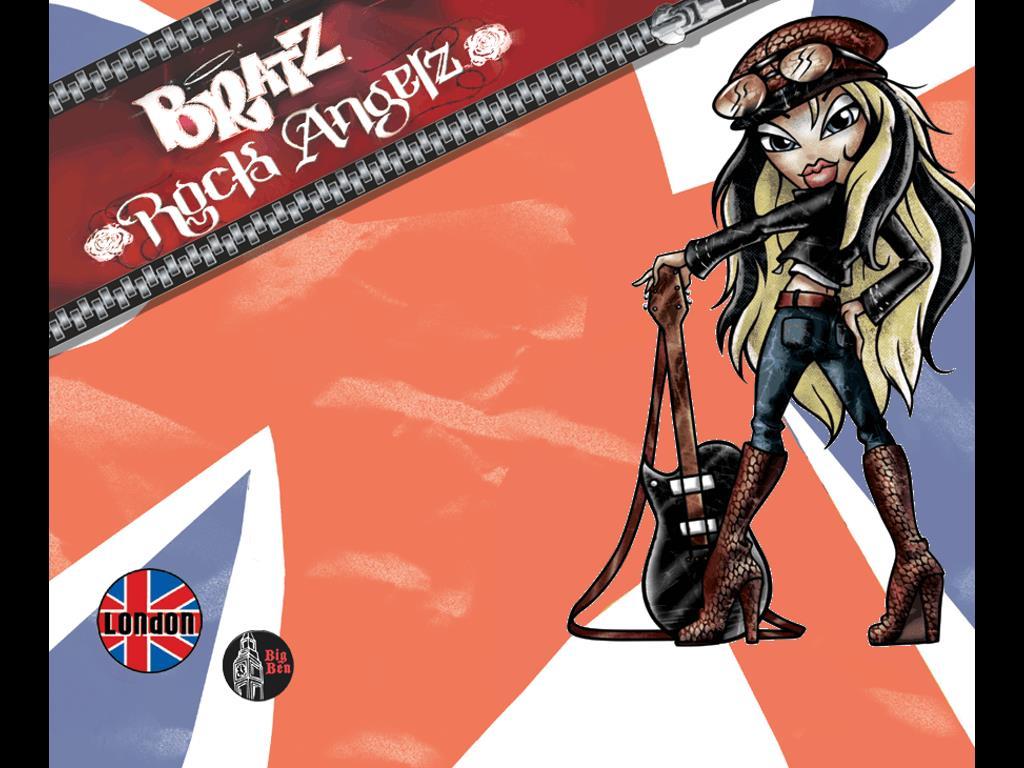 Cartoons Wallpaper: Bratz - Rock Angelz