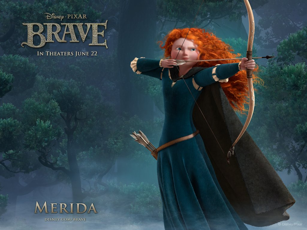 Cartoons Wallpaper: Brave