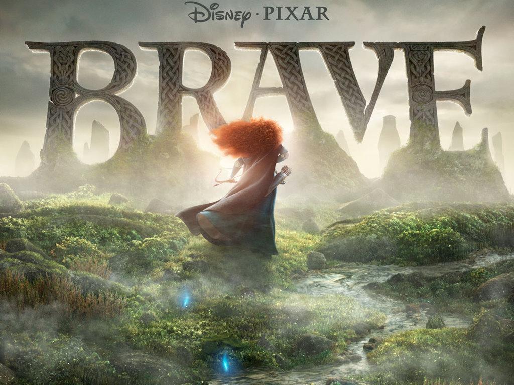 Cartoons Wallpaper: Brave