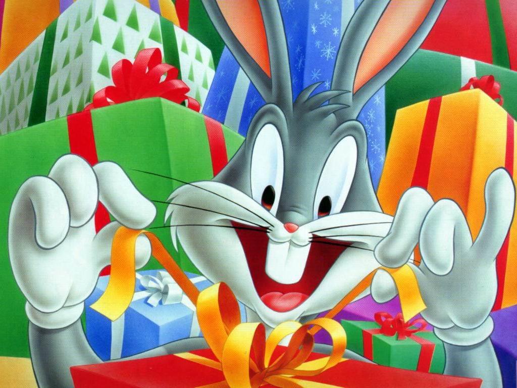 Cartoons Wallpaper: Bugs Bunny - Christmas