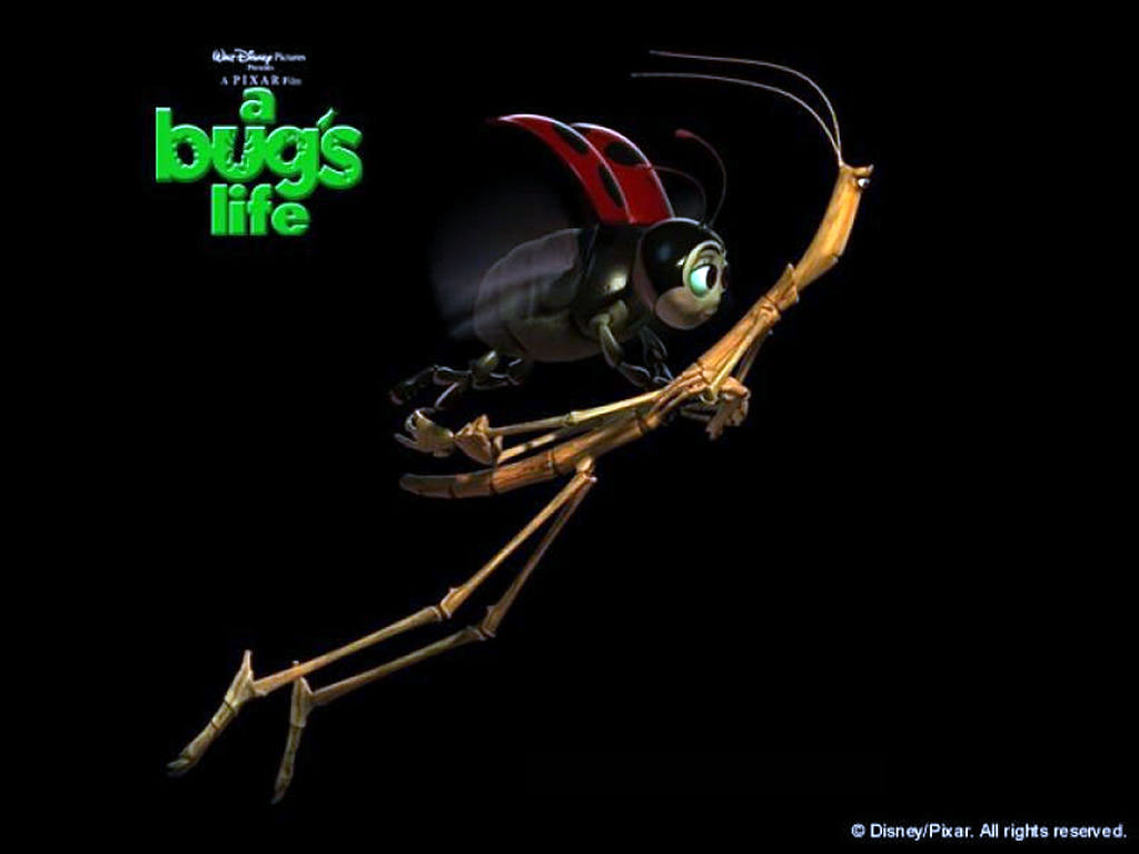 Cartoons Wallpaper: A Bug's Life