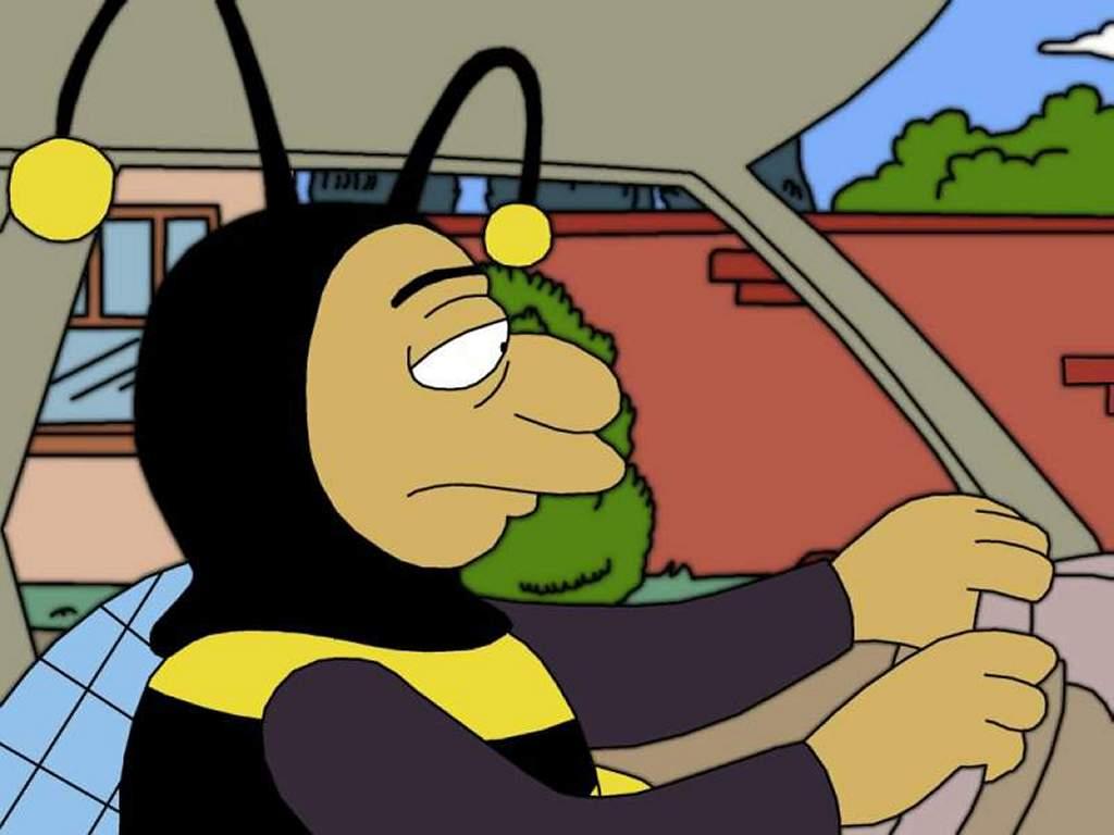 Cartoons Wallpaper: Bumble-Bee Man