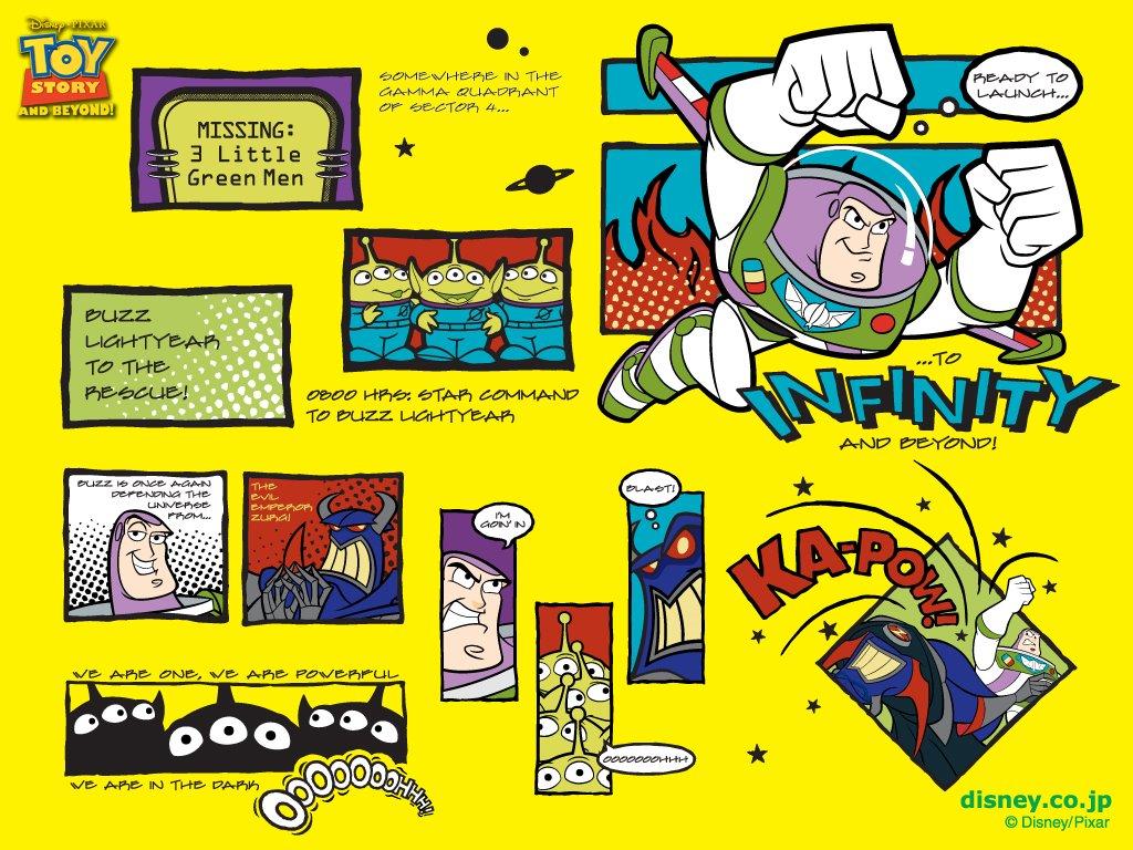 Cartoons Wallpaper: Buzz Lightyear