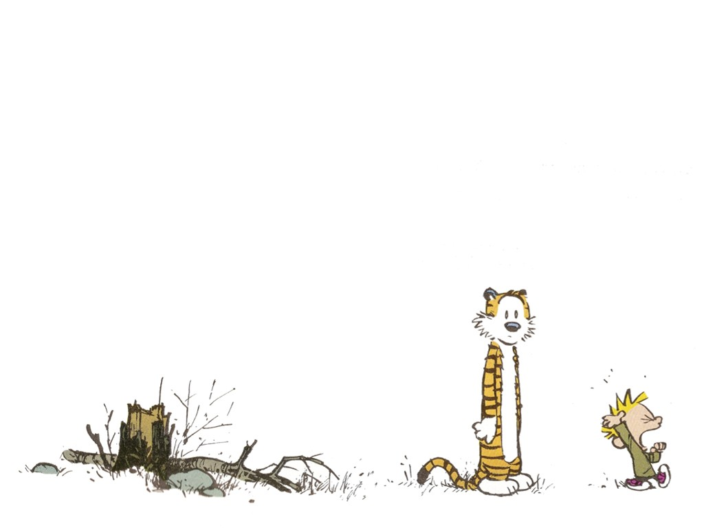 Cartoons Wallpaper: Calvin and Hobbes