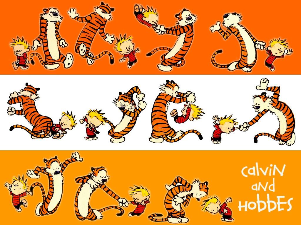 Cartoons Wallpaper: Calvin - Dance
