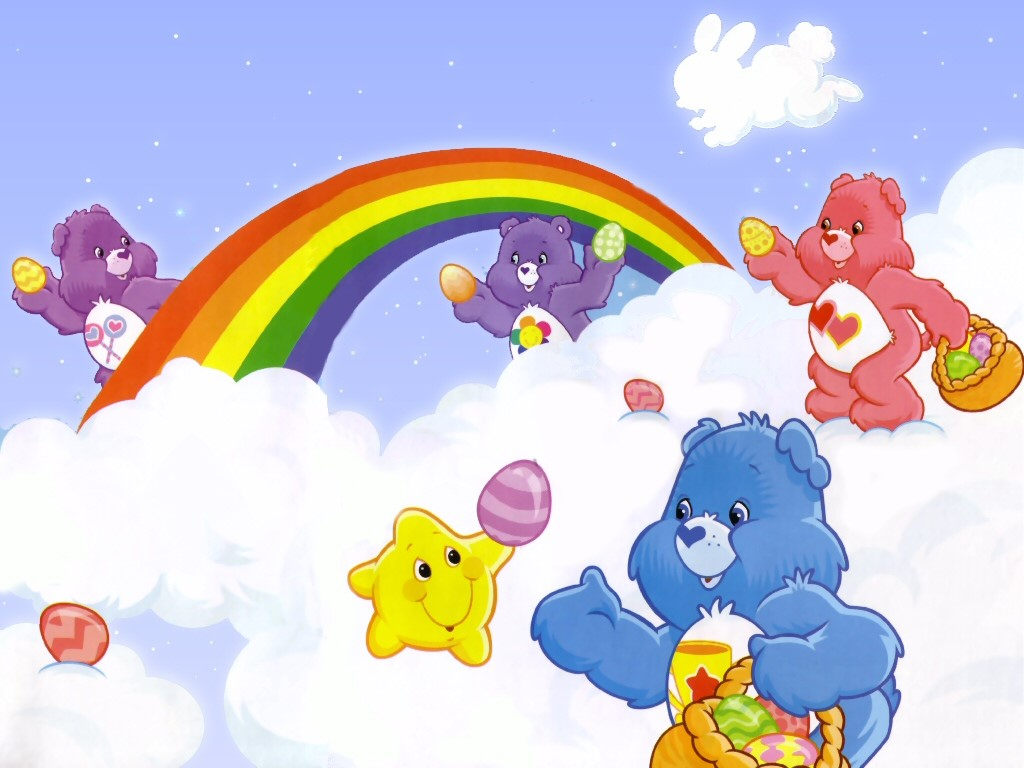Cartoons Wallpaper: Care Bears - Easter