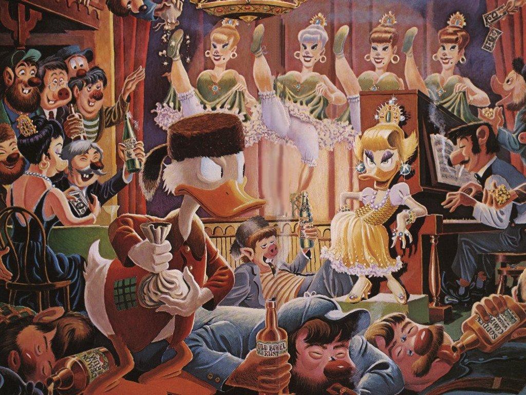 Cartoons Wallpaper: Carl Barks - Scrooge