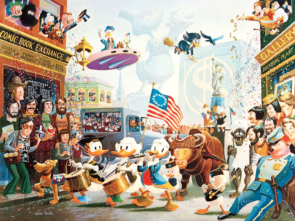 Cartoons Wallpaper: Carl Barks - Parade