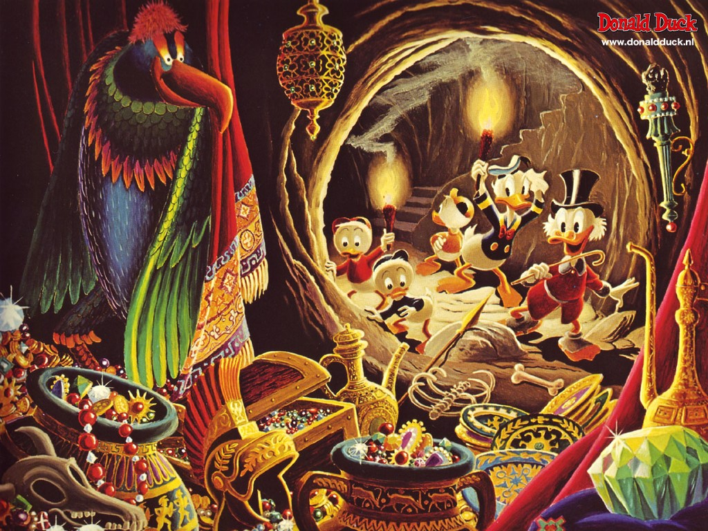 Cartoons Wallpaper: Carl Barks - Treasure