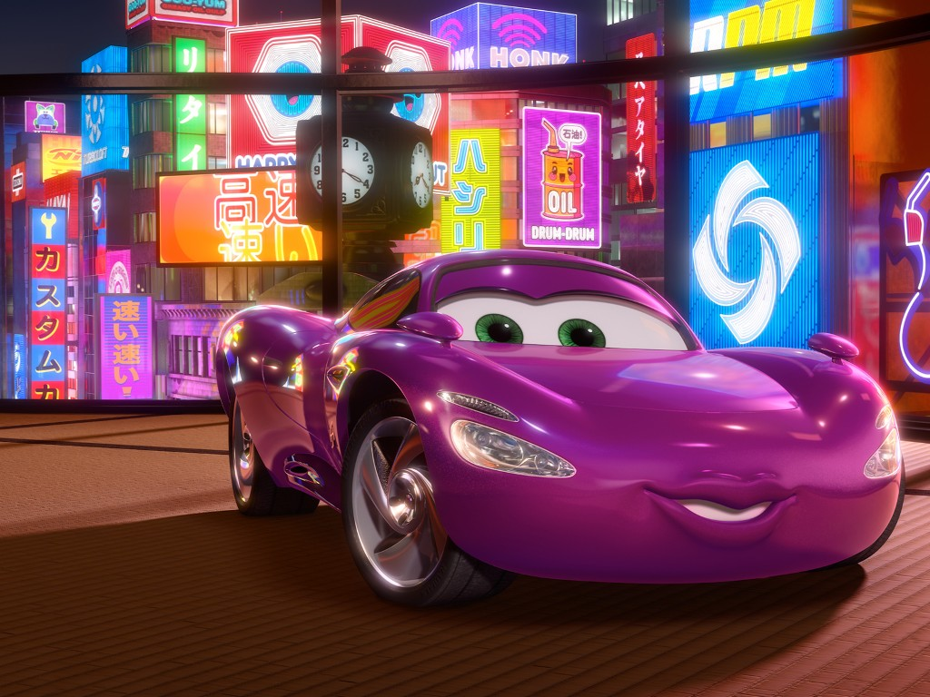 Cartoons Wallpaper: Cars 2 - Holley