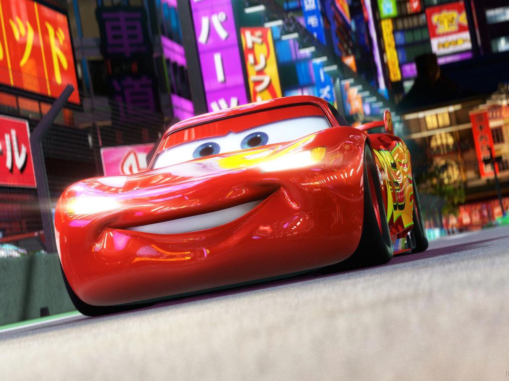 Cartoons Wallpaper: Cars 2 - Lightning McQueen