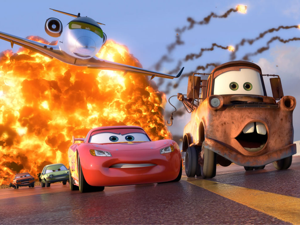 Cartoons Wallpaper: Cars 2